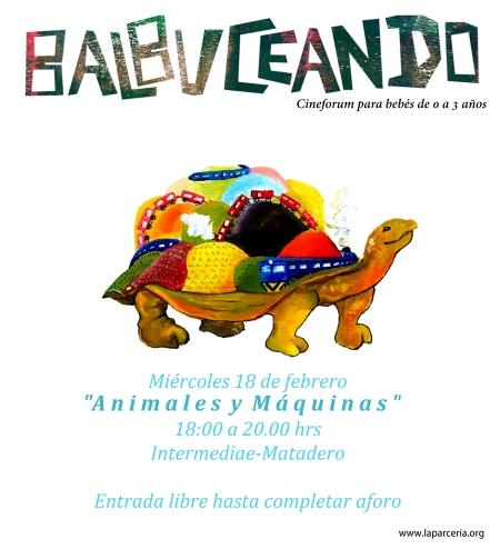 BALBUCEANDO. Animales y máquinas